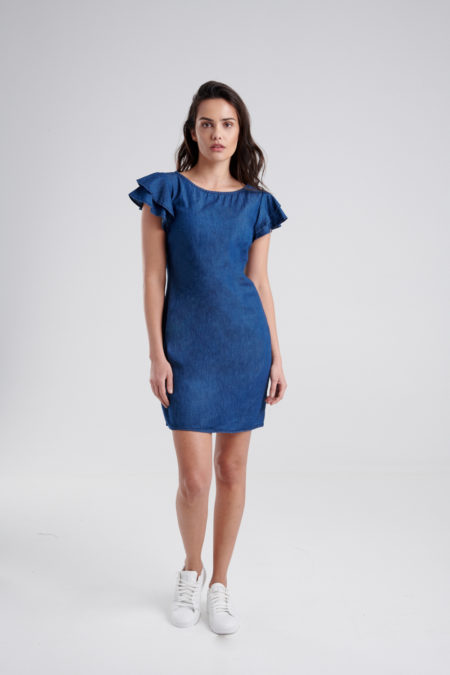 85016c221 Vestidos de noche baratos en torreon - Vestido azul